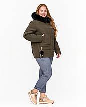 Коротка зимова куртка молодіжна рр 42-52, фото 3