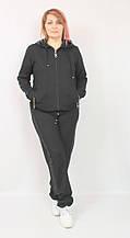 Женский трикотажный костюм украшен стразами EZE Турция рр 50-62