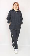 Женский трикотажный костюм  EZE Турция большие размеры рр 60-66