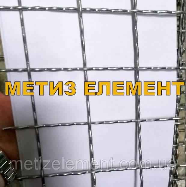 60x60x4,0 сетка канилированная оцинкованная