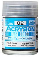 Базовый серый 18 мл. ACRYSION BASE COLOR BN02