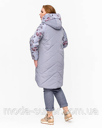 Женская куртка с принтом  рр 46-58, фото 2