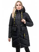 Женская зимняя куртка на утеплителе синтепух рр 44-50
