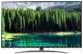 Телевизор лж 75 дюйма 4К со смарт тв и пультом с голосовым управлением тонкий, черный LG 75SM8610