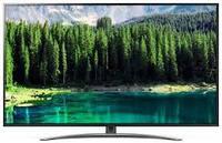 Телевизор лж 75 дюйма 4К со смарт тв и пультом с голосовым управлением тонкий, черный LG 75SM8610, фото 1