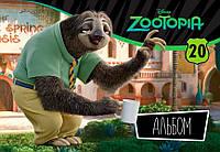 """Альбом для рисования Серия """"Зоотрополис"""" 20 л. Disney"""