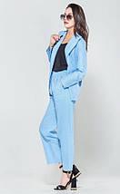 Стильный легкий костюм из ткани лен  рр S-XL, фото 3