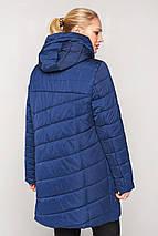 Женская  куртка с вшитым капюшоном большие размеры рр 50-60, фото 2