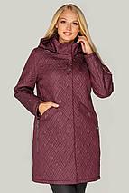 Жіноча куртка з з'ємним капюшоном рр 48-60, фото 3