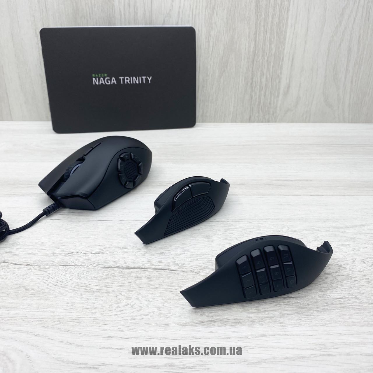 Мышка оптическая Razer Naga Trinity (Black)