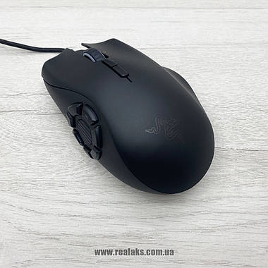 Мышка оптическая Razer Naga Trinity (Black), фото 2
