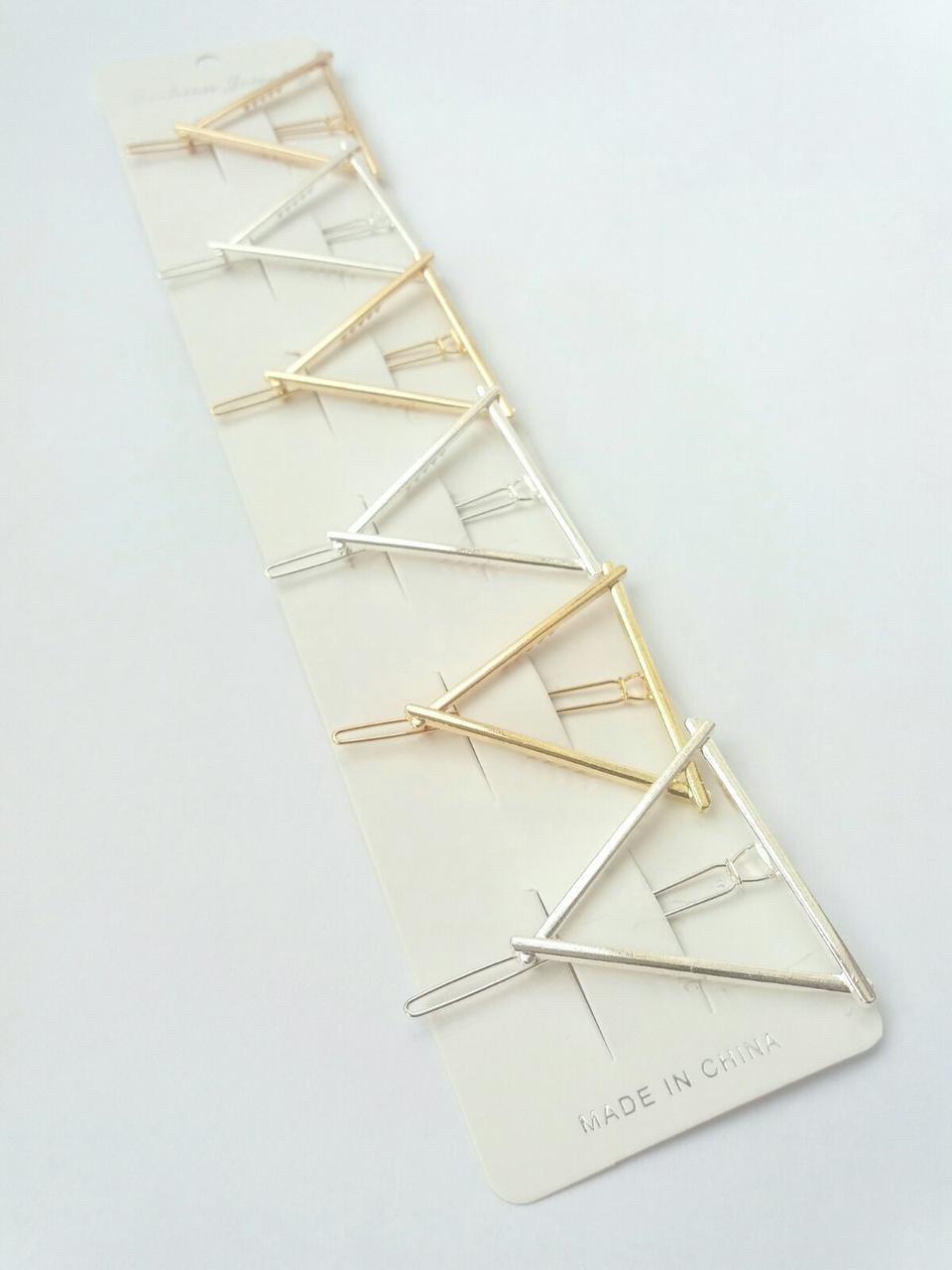 Заколка на челку Треугольник