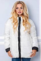 Жіноча куртка демі спортивного стилю рр 44-56, фото 3
