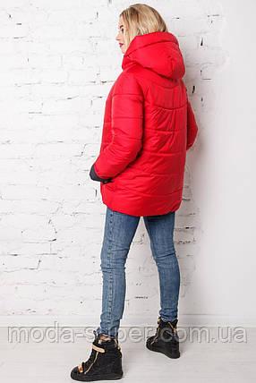 Женская куртка деми спортивного стиля  рр 44-56, фото 2