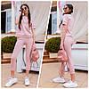 Костюм женский спортивный футболка + брюки в расцветках 60448