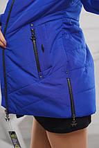 Женская куртка удлинённая рр 44-58, фото 3