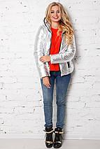 Женская куртка укороченная  рр 42-54, фото 2