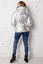 Женская куртка укороченная  рр 42-54, фото 3