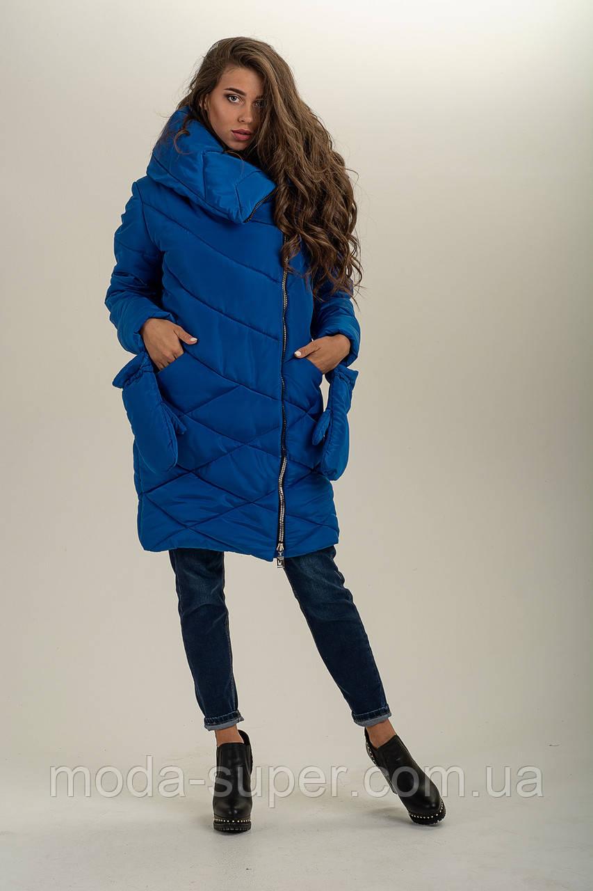 Зимова куртка з сьемными рукавичками рр 46-56