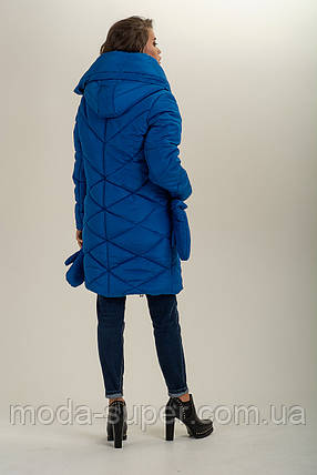 Зимова куртка з сьемными рукавичками рр 46-56, фото 2