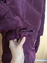 Зимняя теплая куртка  с сьемными  рукавичками рр 46-56, фото 3