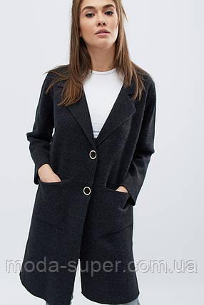 Женское пальто деми на кнопках рр 42-46, фото 2