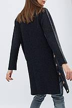 Женское пальто деми на кнопках рр 42-46, фото 3