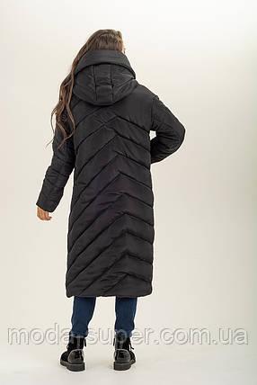 Зимняя  куртка-одеяло с обьемным воротником  рр 46-56, фото 2