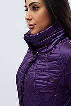 Женская куртка с пояской рр 42-48, фото 3