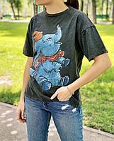 Женская футболка «Слоненок Дамбо»