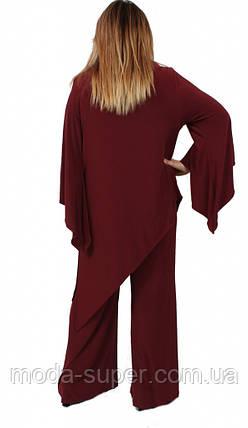 Женский нарядный костюм ,рр 56-60,Турция, фото 2