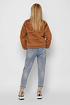 Женская куртка оверсайз из ткани вельвет рр 42-48, фото 3