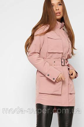 Женская куртка - парка рр 42-48, фото 2