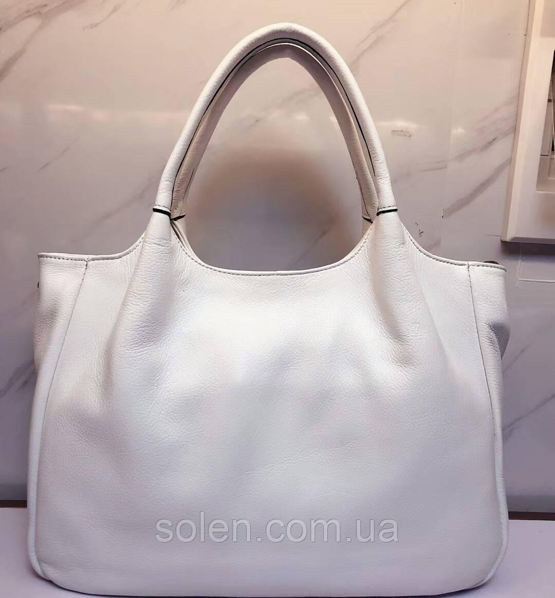Стильная кожаная сумка . Женская сумка из натуральной кожи. Сумка саквояж. Красивая сумка. Женская сумка.