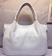 Стильная кожаная сумка . Женская сумка из натуральной кожи. Сумка саквояж. Красивая сумка. Женская сумка., фото 1