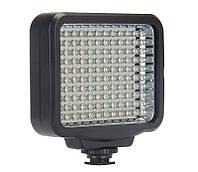 Накамерне світло для фото, відеозйомки Alitek LED-5009 + AB + ЗУ