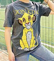 Женская футболка «Симба и Король Лев»