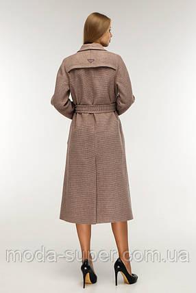 Женское полуприлегающее пальто деми рр 44, фото 2