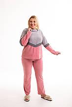 Женская велюровая пижама - домашний костюм рр 44-52