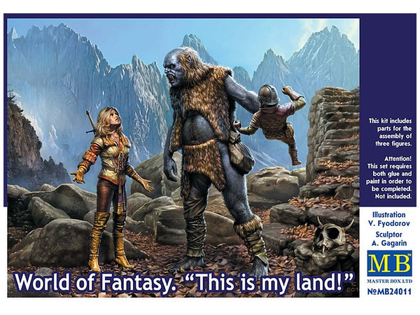 """""""World of Fantasy. This is my land!"""" 1/24 MB24011"""