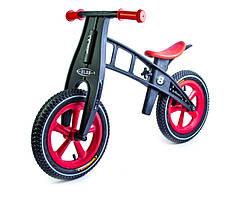 Велобег (Беговел) детский с надувными колесами Balance Trike, Red