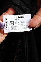 Женская ветровка с пайетками и капюшоном Darkwin  (Турция) рр 52-56, фото 3