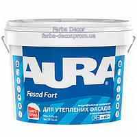 Краска AURA Fasad Fort атмосферостойкая дисперсионная, 5 л