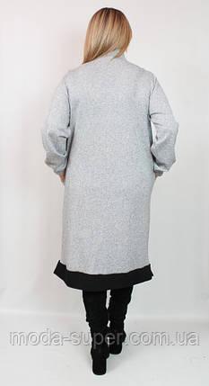 Стильне жіноче плаття Darkwin Туреччина рр 52-64, фото 2