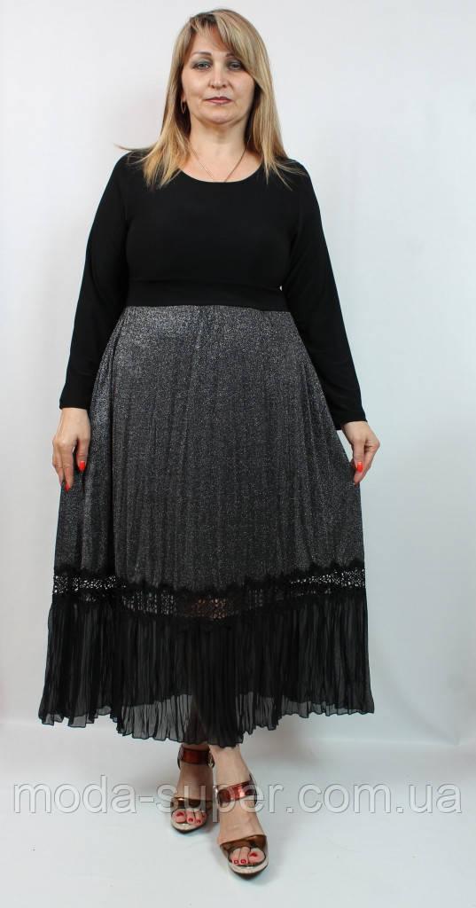 Гарне плаття з довгими рукавами Darkwin Туреччина рр 52-58