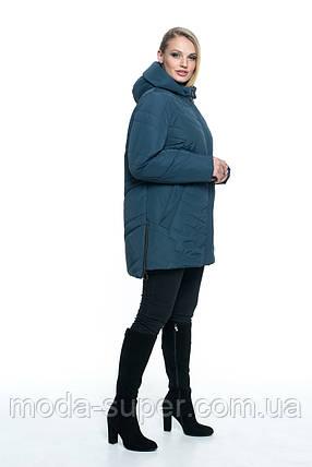 Женская весенняя куртка больших размеров  рр 54-70, фото 2