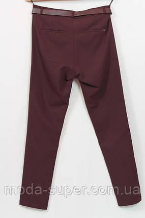Класичні брюки з стрейч-трикотажу ,пр-під Туреччина,рр 48-54, фото 2