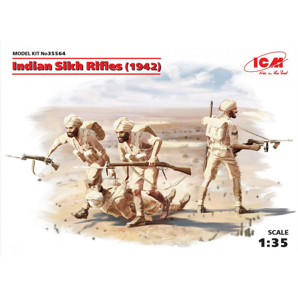 Индийские сикхские стрелки (1942 г.). 1/35 ICM 35564