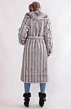 Роскошная женская шуба эко- норка рр 44-58, фото 2