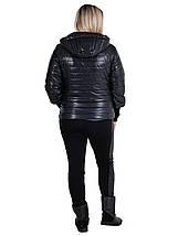 Куртка жіноча весняна модель розміри 44 - 54, фото 2